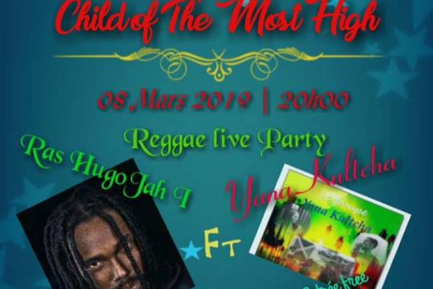 Hugo jah en concert au cocosoda : Child of the most High